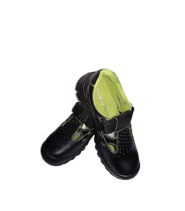 Сандалии кожаные (композитный защитный носок), размер 42