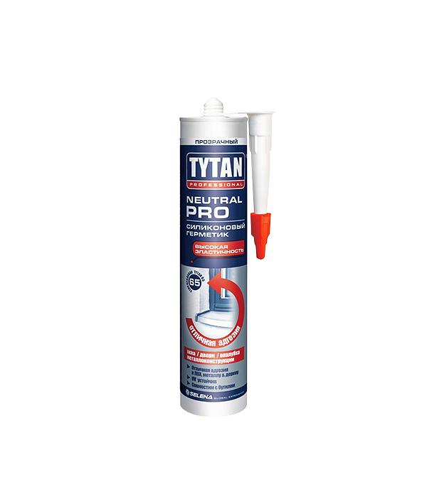 Герметик силиконовый Tytan Neutral PRO нейтральный 310 мл белый
