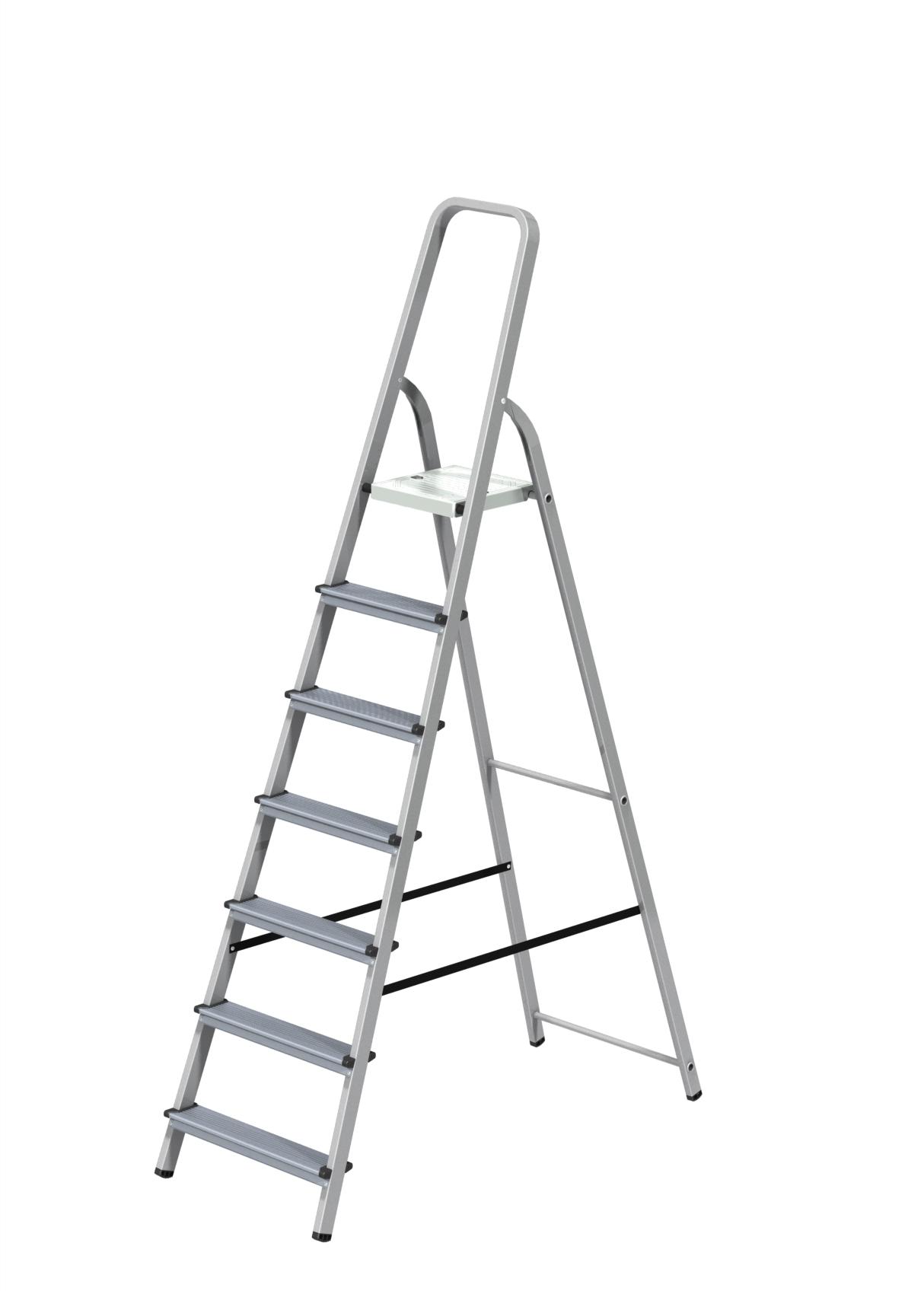 Стремянка комбинированная 7 ступени Новая высота Эконом