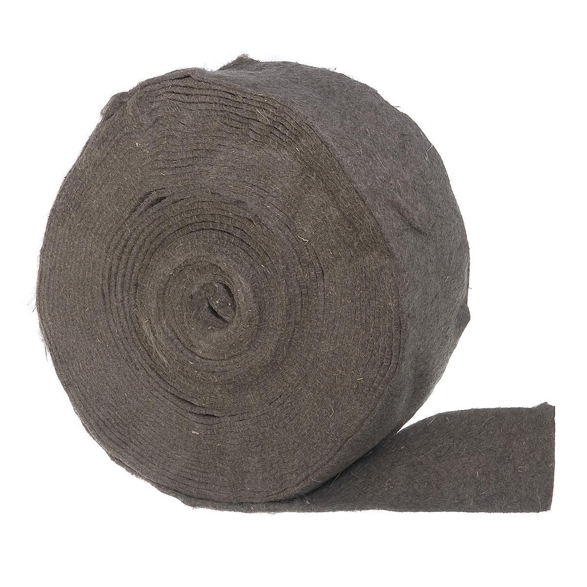 Утеплитель межвенцовый (уплотнитель) льняной 5-6 мм 0,1х20 м