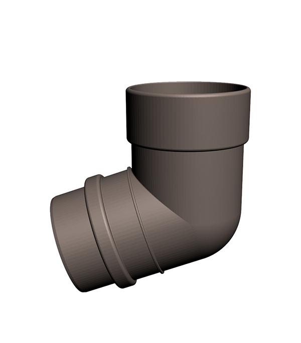 Колено трубы пластиковое d100 мм 72° шоколад, DOCKE LUX заглушка желоба grand line универсальная красное вино металлическая