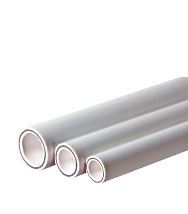 Труба полипропиленовая армированная стекловолокном 25 Valtec 32х2000 мм PN аппарат для сварки полипропиленовых труб bort brs 2000