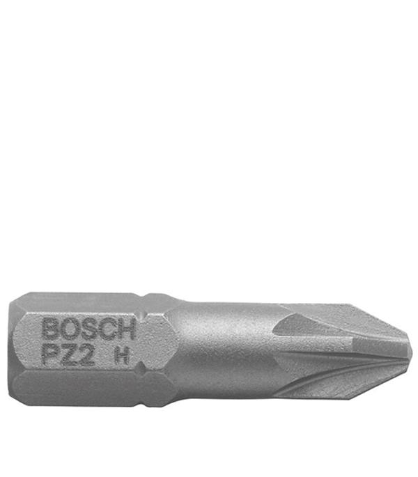 Бита Bosch PZ2 25 мм (3 шт)  бита torx t25 25 мм 3 шт bosch профи