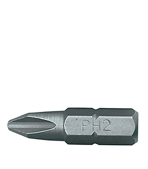 Бита Bosch PH1 25 мм (3 шт)  бита torx t25 25 мм 3 шт bosch профи