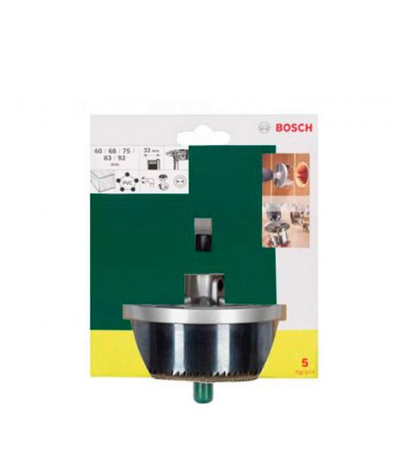Коронки по дереву набор 5 шт (60-92) мм Promoline Bosch Стандарт