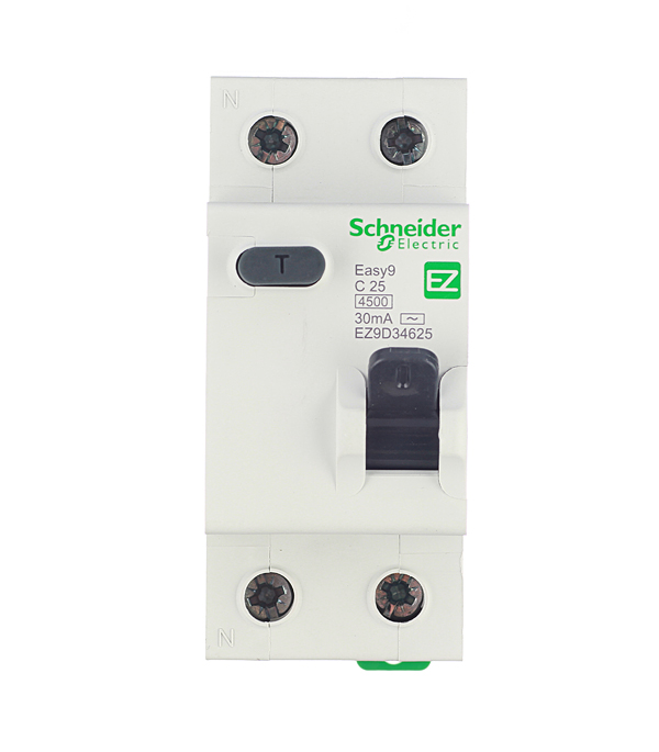 Дифференциальный автомат Schneider Electric Easy9 1P+N 25А тип C 30 мА 4.5 kA SE EZ9D34625 автомат 1p 25а тип с 4 5ка schneider electric easy9