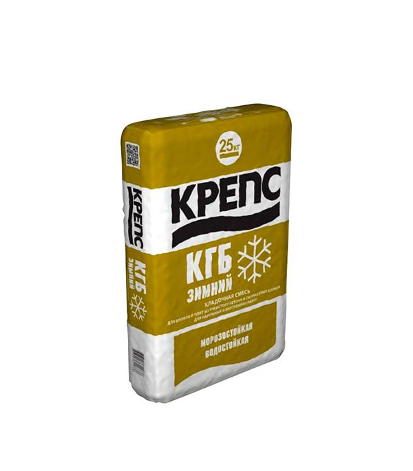Крепс КГБ зимний (клей для газобетона), 25 кг
