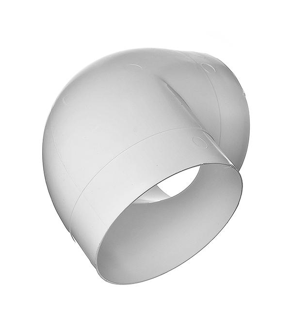 Колено для круглых воздуховодов пластиковое d160 мм 90° отвод для дренажных труб d160 на 90 градусов