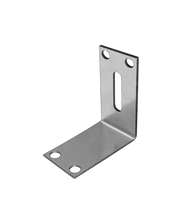 Уголок фиксирующий для дверного профиля UA-75A  2 мм (50 шт)