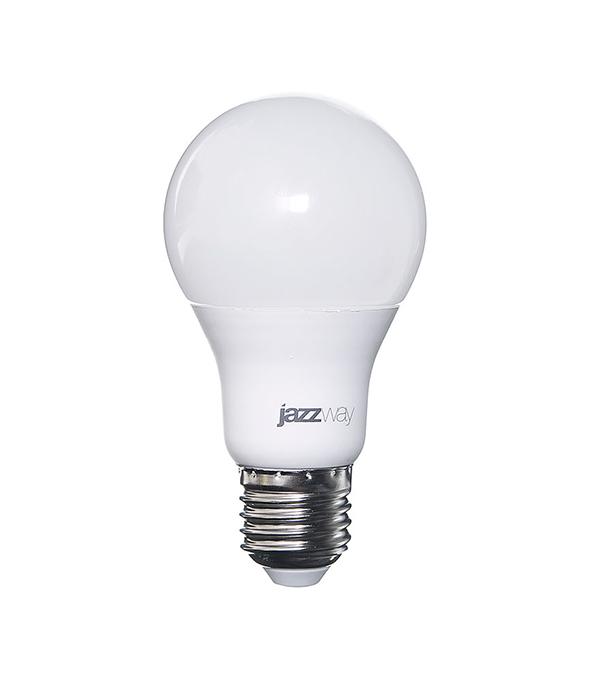 Лампа светодиодная E27, 10W, A60 (груша), 5000K (холодный свет), Jazzway