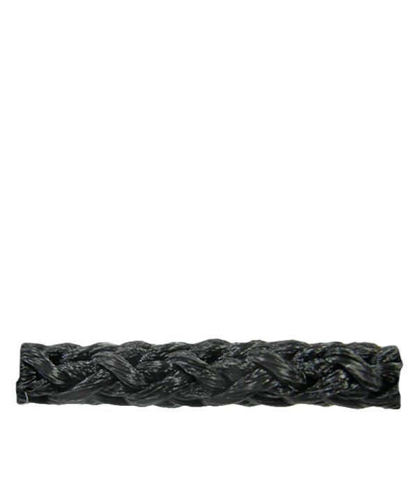 Шнур плетеный черный d3 мм полипропиленовый