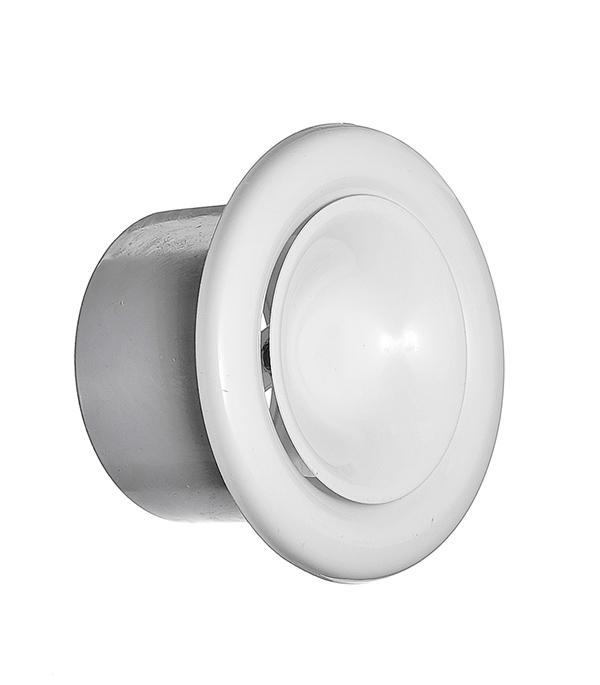 Диффузор приточный регулируемый d100 мм стальной белый
