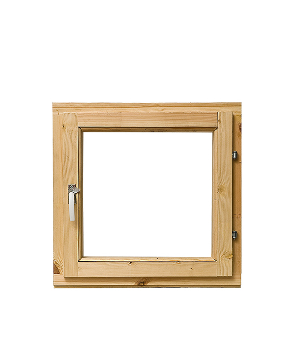 Блок оконный 560х570 мм с фурнитурой, без форточки (3Д ДОЗ)