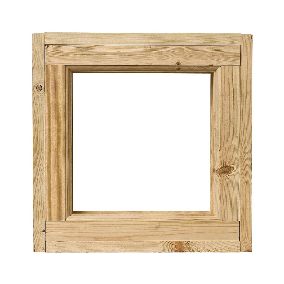 Блок оконный банный двойной 470х470 мм (3Д ДОЗ)