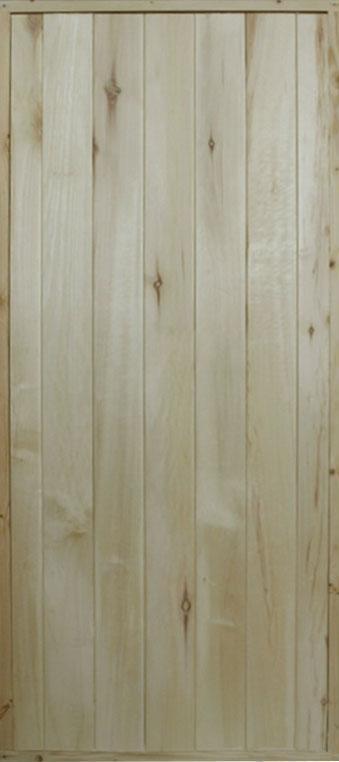 Дверной блок банный осина 770х1770 мм (3Д ДОЗ)