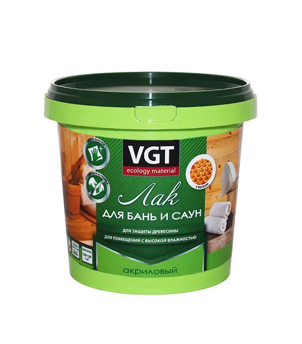 Лак акриловый для бань и саун VGT 0,9 кг огнеупорная плита для саун и бань