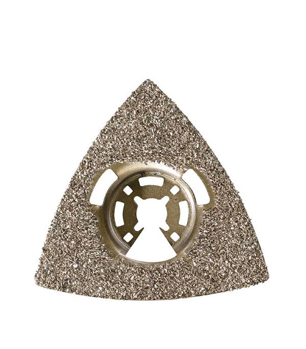 Рашпиль твердосплавный KWB Стандарт для МФУ  шлифпластина треугольная для мфу kwb стандарт