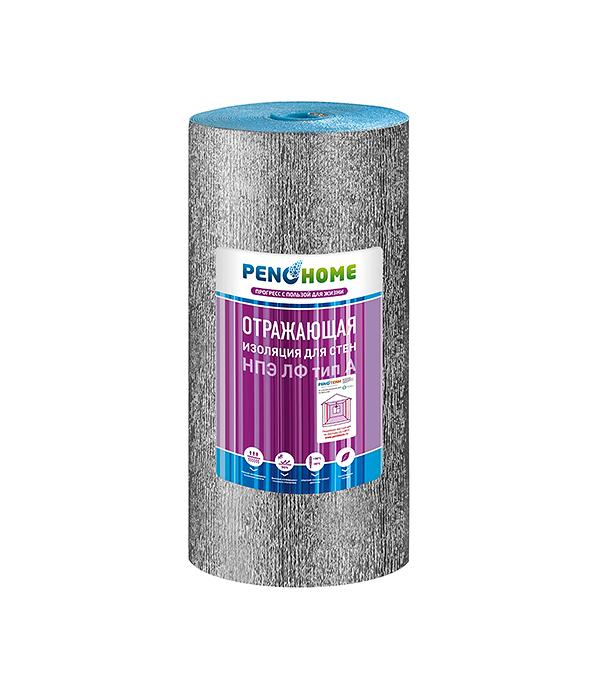 Теплоизоляция для стен НПЭ ЛФ тип А  8 мм (1,2x15 м) Порилекс