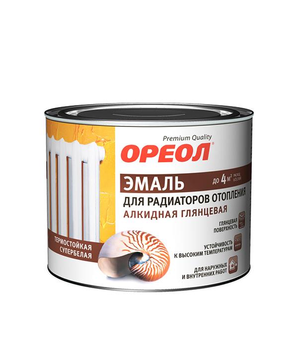 Эмаль для радиаторов алкидная Ореол 0,5 кг