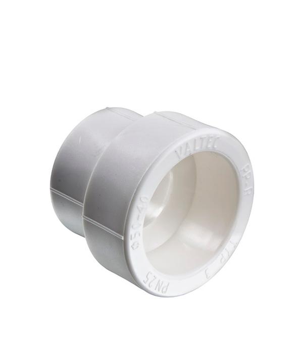 Муфта полипропиленовая переходная 25х20 мм Valtec  муфта полипропилен 25