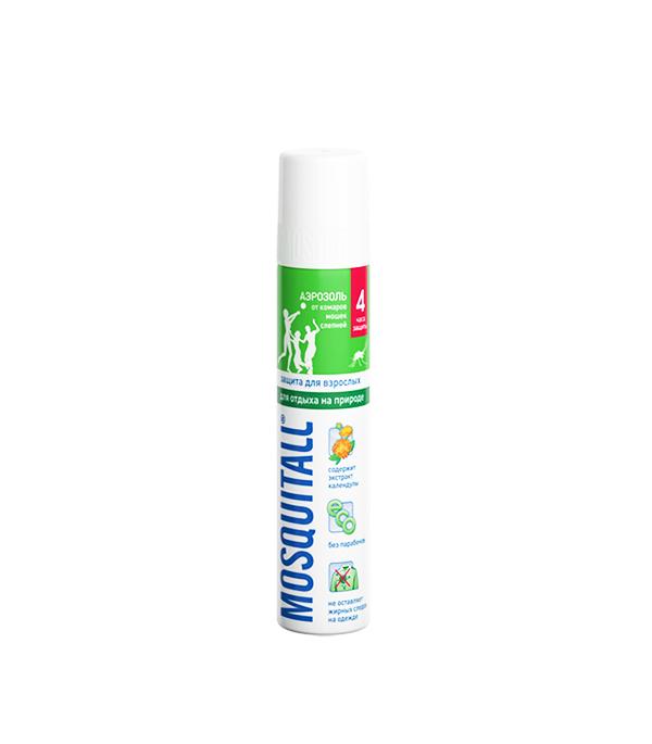 Москитолл, аэрозоль от комаров, защита для взрослых, 100 мл