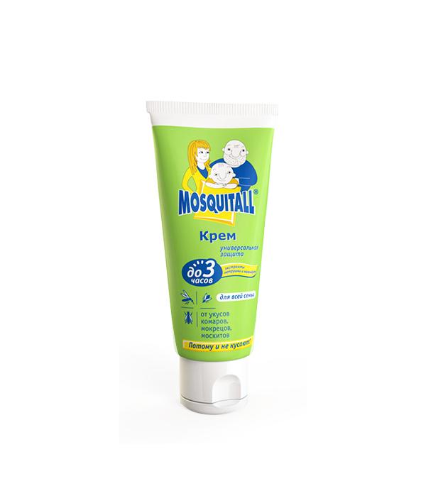 Москитолл, крем от комаров, универсальная защита, 75 мл