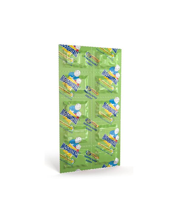 Пластины от комаров Москитол универсальная защита (10 шт) средства от насекомых mosquitall пластины от комаров нежная защита 10 шт