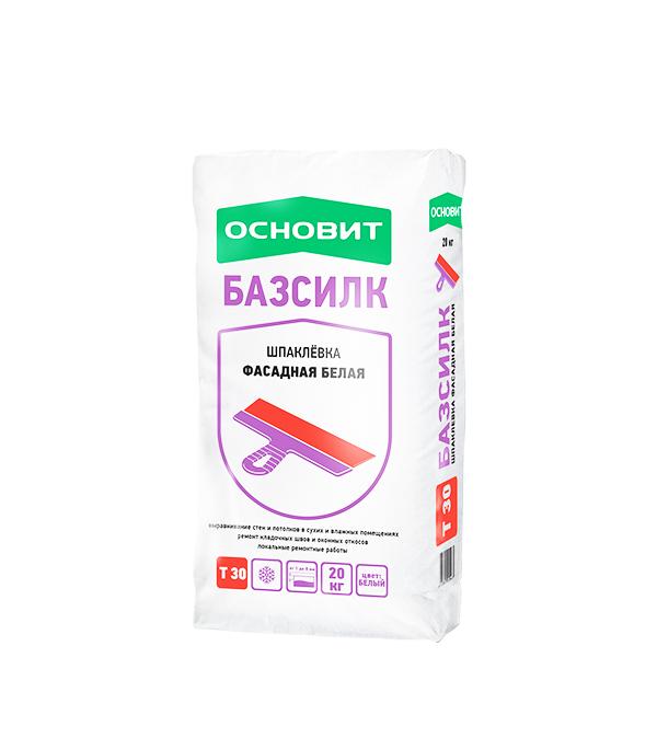 цена на Шпаклевка Основит Т-30 Базсилк 20 кг