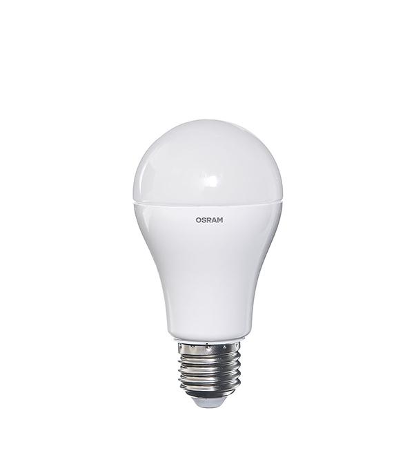 Лампа светодиодная E27, 11,5 W, A100 (груша), 6500K (холодный свет), Osram лампа светодиодная osram mr16