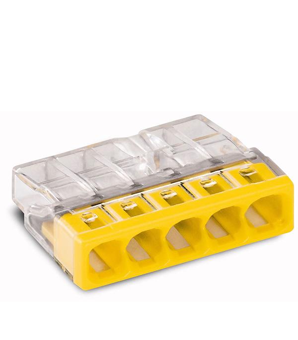 Зажим клемма Wago на 5 проводов 0.5-2.5 мм.кв без пасты (100 шт) комплект проводов для ваз21083 t356s