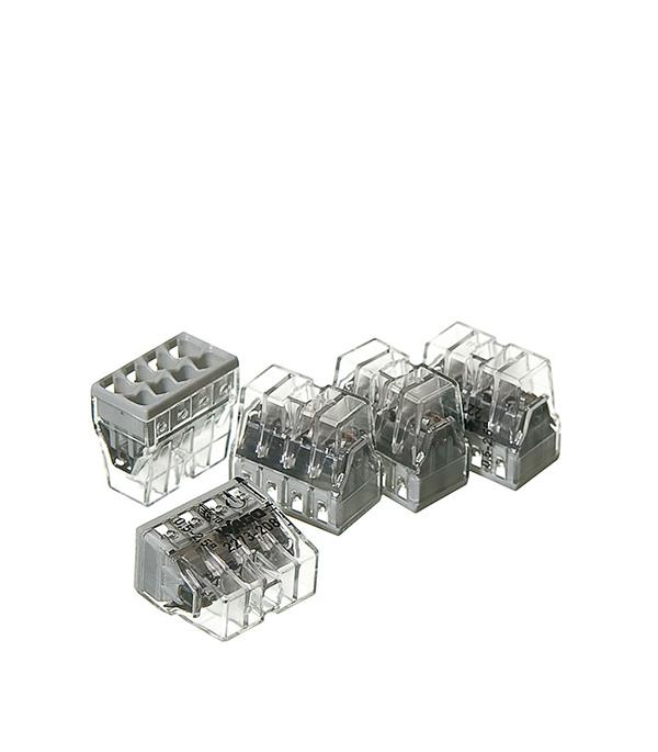 Зажим клемма Wago на 8 проводов 0.5-2.5 мм.кв без пасты (5 шт) комплект проводов для ваз21083 t356s