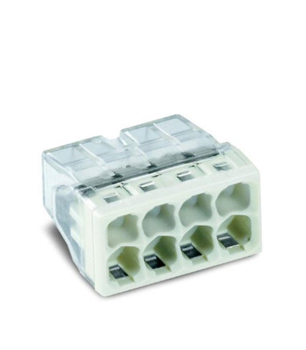 Зажим клемма Wago на 8 проводов 0.5-2.5 мм.кв без пасты (50 шт) комплект проводов для ваз21083 t356s