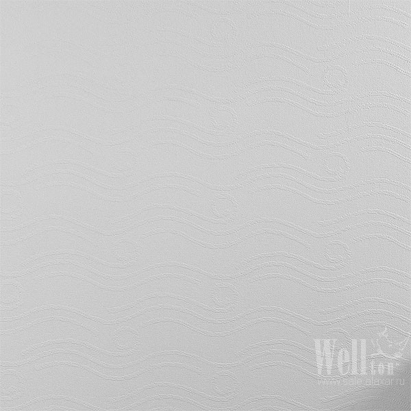 Стеклообои Волна 1х12,5 м Wellton  Dеcor