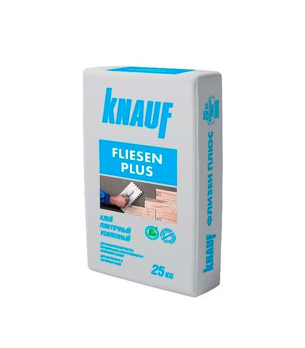Клей для плитки Knauf Флизен Плюс 25 кг  гкл knauf 3000х1200х12 5мм