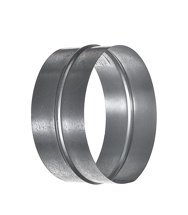 Соединитель для круглых воздуховодов оцинкованный d160 мм