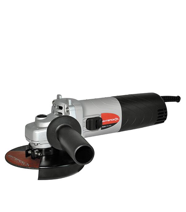 Шлифмашина угловая УШМ-125/900 (Т), 900 Вт 125 мм (болгарка) Интерскол