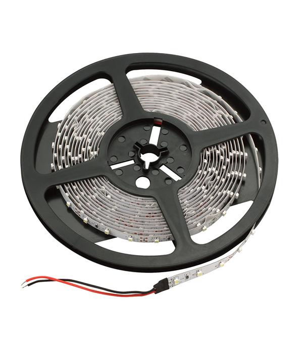 Лента светодиодная 60 LED/м, 4,8 Вт/м, 12В, IP20, теплый свет, 5 м, Jazzway