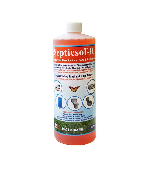 Жидкость санитарно-дезодорирующая  для верхнего бака биотуалетов SEPTICSOL-R, 1 литр