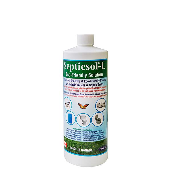 Жидкость санитарно-дезодорирующая для приемного бака биотуалетов SEPTICSOL-L, 1 литр