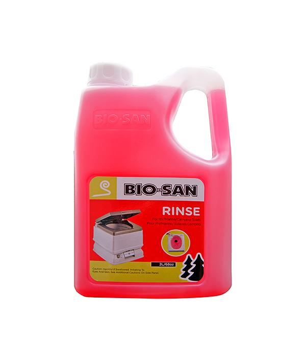 Шампунь для верхнего бака биотуалетов Bio-San Rinse, 2 литра