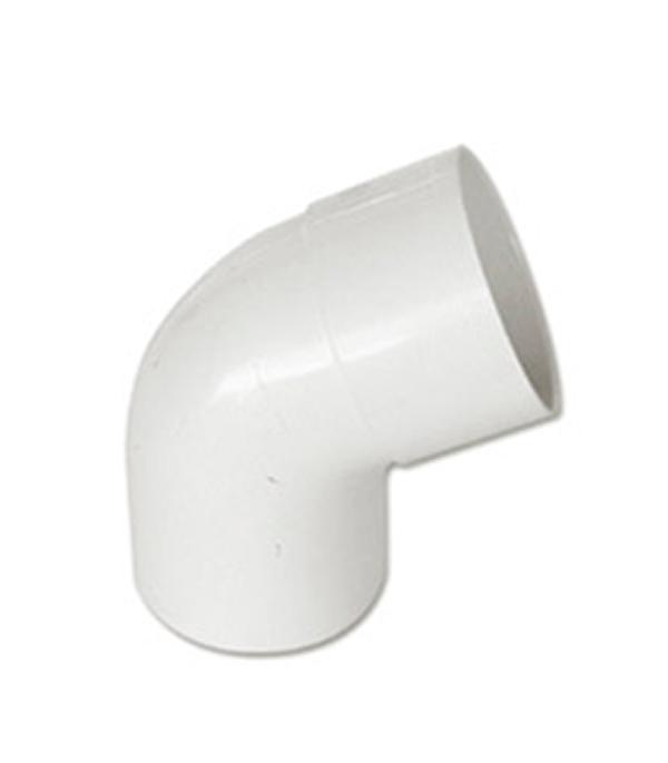 Отвод трубы пластиковый d100, 45° белый  Murol