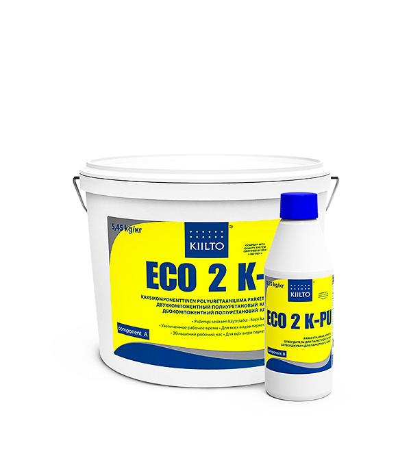 Клей для паркета Киилто Эко 2КПУ 5,45 кг+0,55 кг  цена и фото