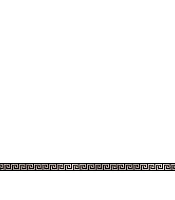 Керамогранит бордюр 25х600х10,5 мм Крит черный/Керамика Будущего