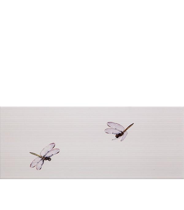 """Плитка декор 500х200х9,5 мм Ирис тип 4 сиреневый от Строительный Торговый Дом """"Петрович"""""""
