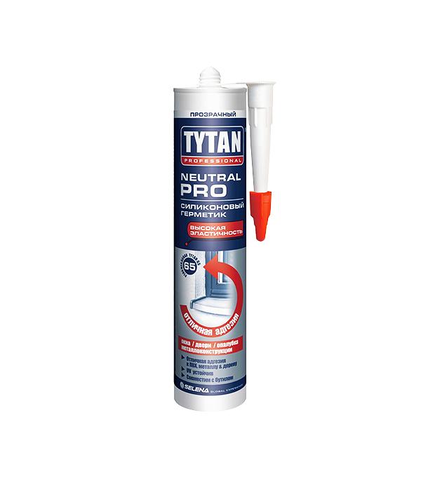 цена на Герметик силиконовый Tytan Neutral PRO нейтральный 310 мл прозрачный