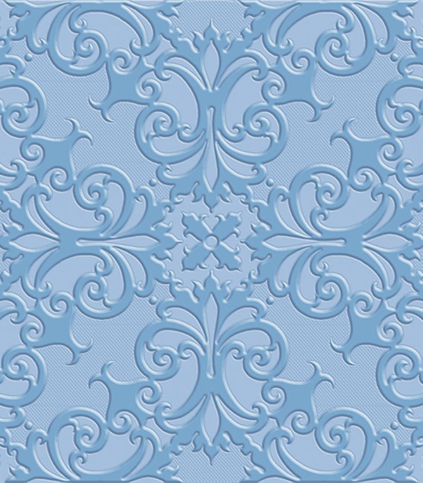 Плитка напольная Прованс Люкс 400х400х9мм синяя (10 шт=1,6 кв.м) плитка вкз лаура зеленая в спб