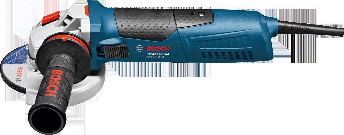 Шлифмашина угловая Bosch GWS 17-125 CI 1700 Вт 125 мм круг отрезной по металлу 125х22х1мм bosch профи