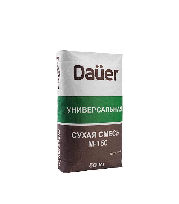 Цементно-песчаная смесь DAÜER M150 универсальная 50 кг форма для блоков для возведения стен купить москва