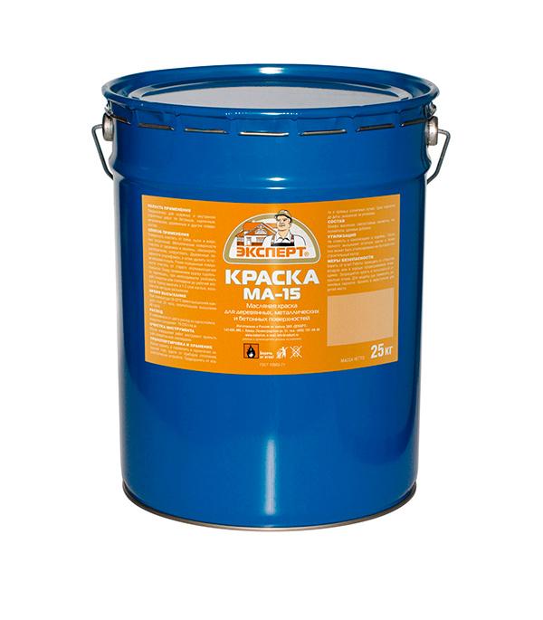 Краска масляная МА-15 салатовая Эксперт 25 кг
