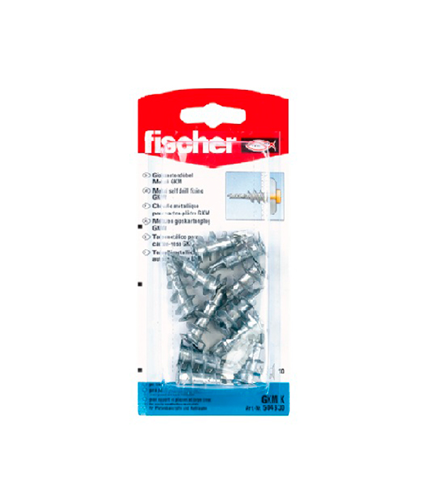 Дюбель для листовых материалов GKМ (10 шт.) Fischer